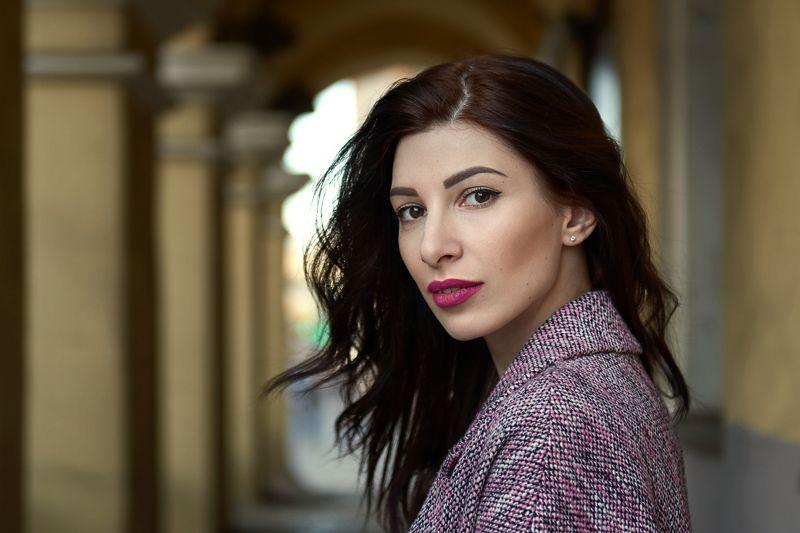 portrait, girl, model, eyes, hair, lips, face, beauty, facial, make-up, photographer, russia, nikon Ксенияphoto preview