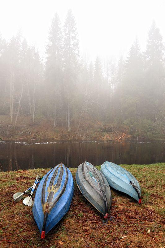 березайка, туман, река, весна, байдарки Утренний туман на Березайкеphoto preview
