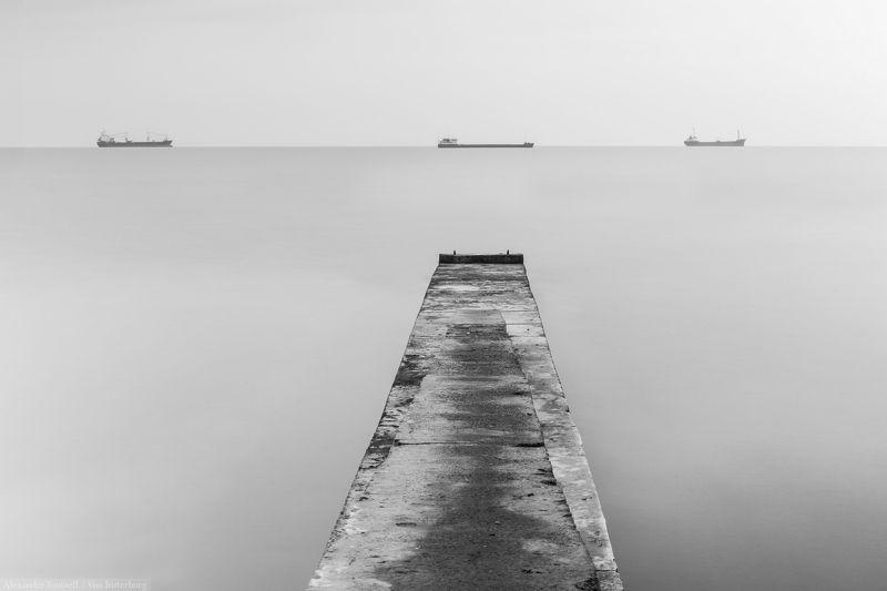 море, пейзаж, ч/б, монохром, минимализм, seascape, sea, minimalism, monochrome, blackandwhite, ***photo preview