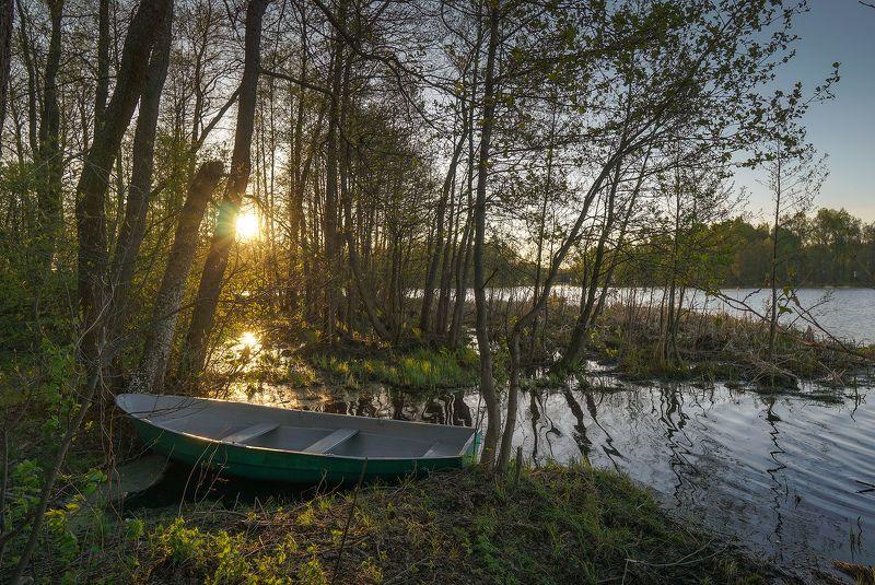 Закат на Великом озере photo preview