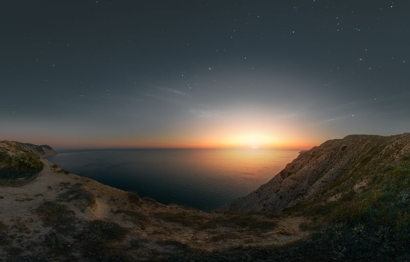Закат в Анапеphoto preview