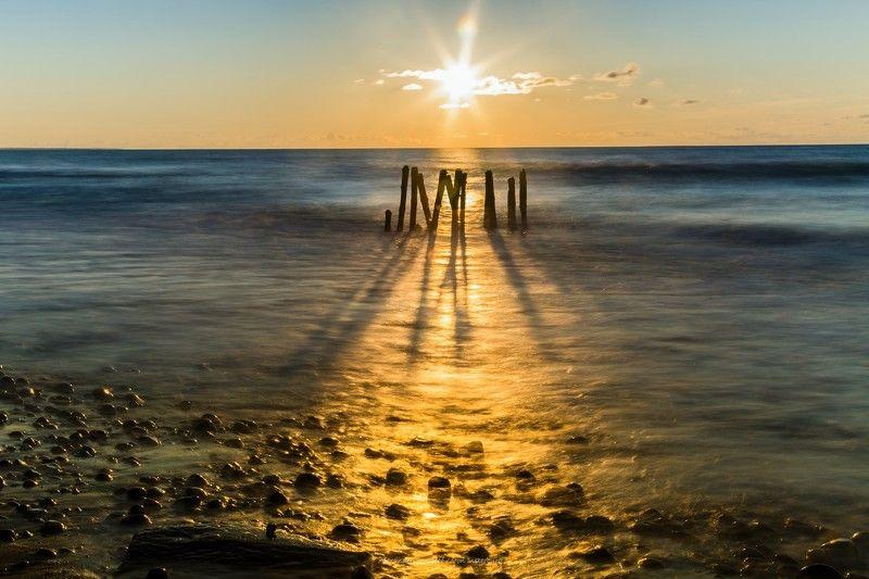 море, пейзаж, камни, seascape, sea, sunlight, sunset,sun, солнце, закат, ***photo preview