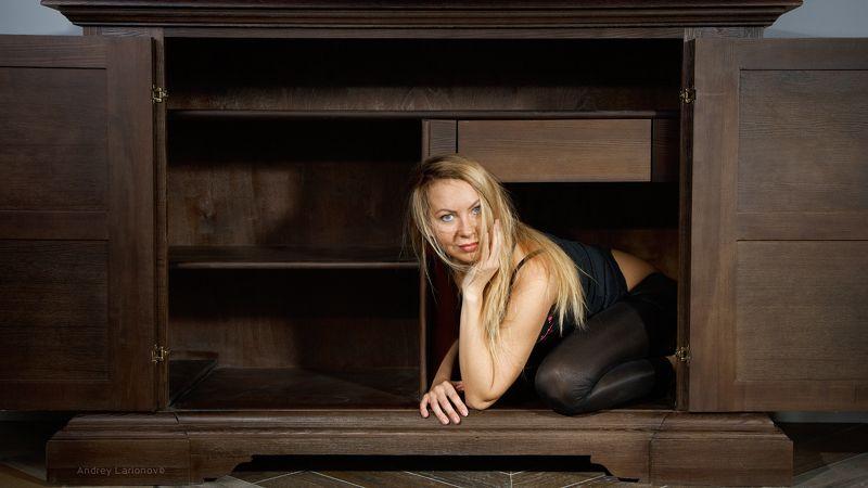 портрет, студия, девушка, блондинка, интерьер, мебель, андрейларионов ***photo preview