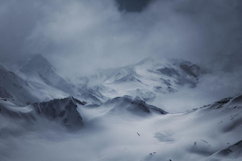 кавказ, горы, туман, путешествия, fog, mountains, travels Северный Кавказphoto preview