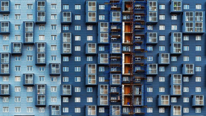 архитектура, синий Цвет настроения синийphoto preview