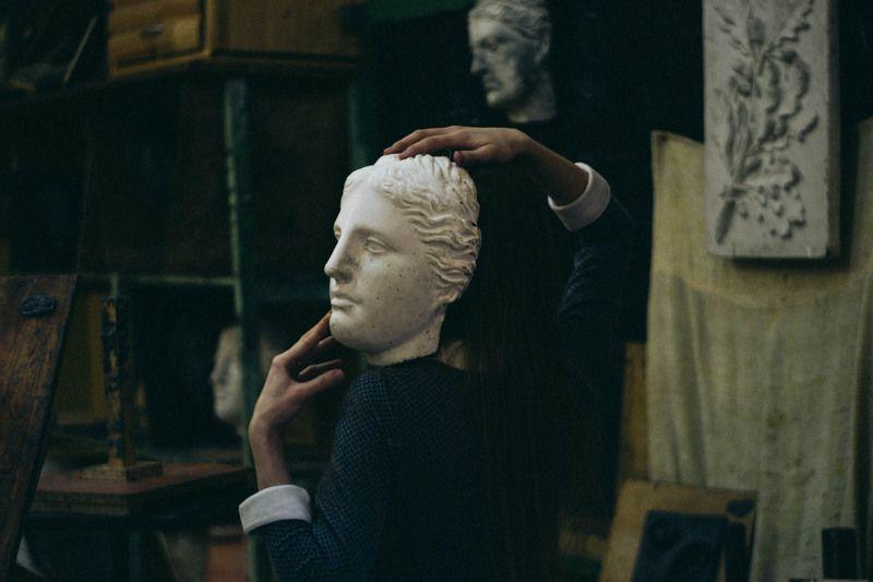 In the studio sculptingphoto preview