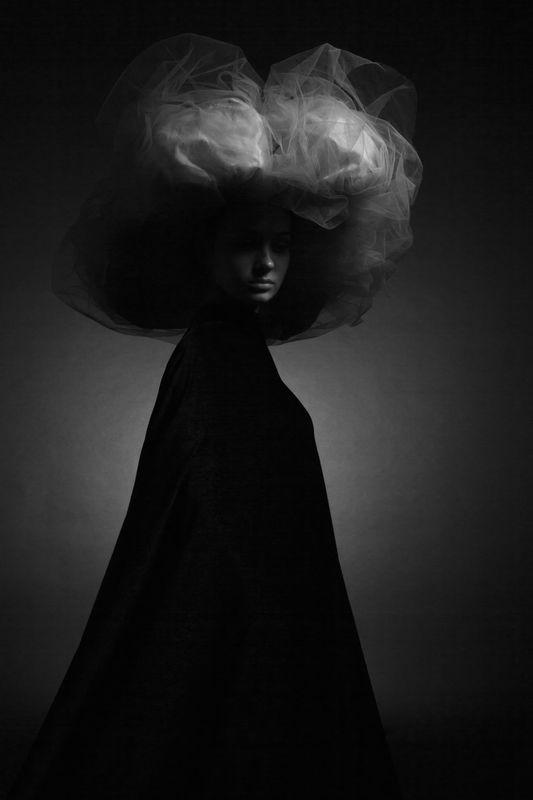 женщина, шляпа, мода, красота, гламур, искусство, стиль Большая белая шляпа 6.photo preview