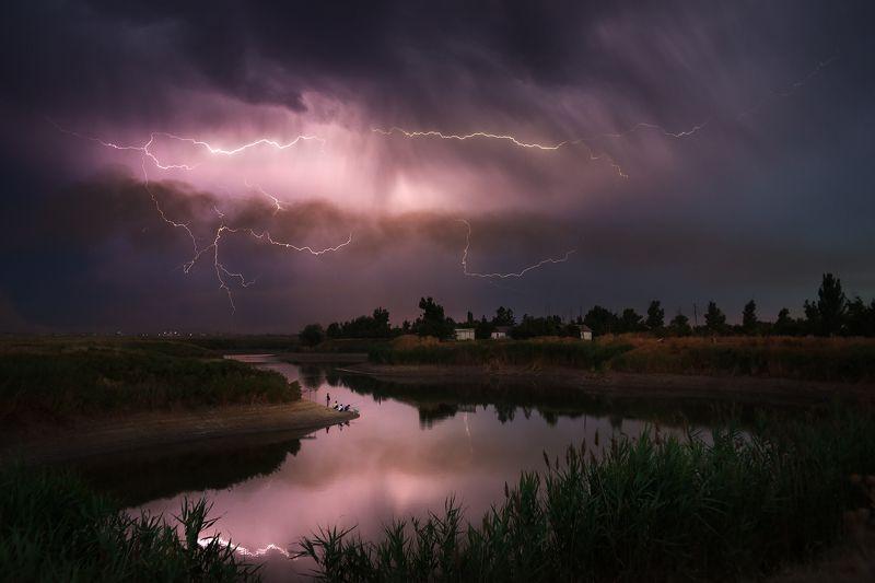 молния, гроза, рыбалка Щас стопудово начнёт ловитьсяphoto preview