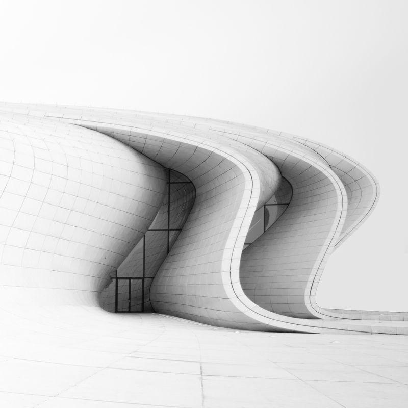 Heydar Aliyev Center. Baku, Azerbaijanphoto preview