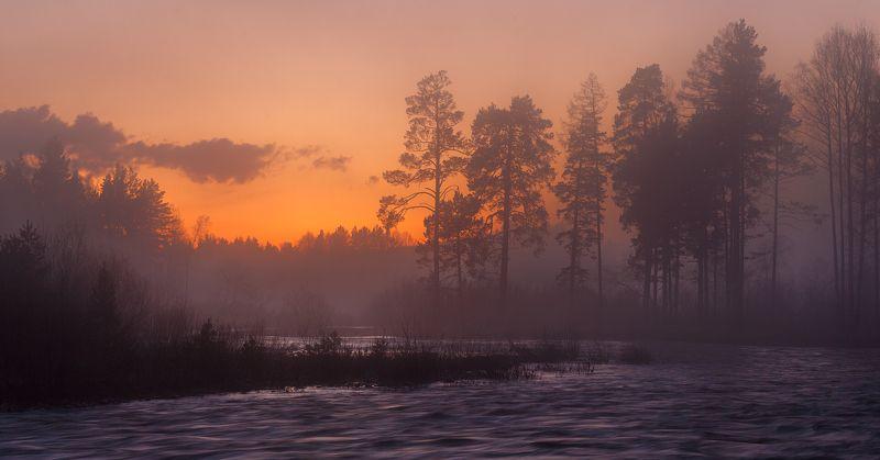 река юрюзань, меседа, тюлюк Под покровом сумерекphoto preview