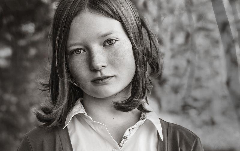 Портрет девушки.photo preview
