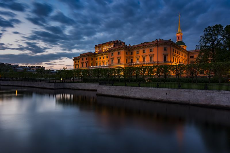 petersburg, петербург, россия Saint Michael\'s Castlephoto preview