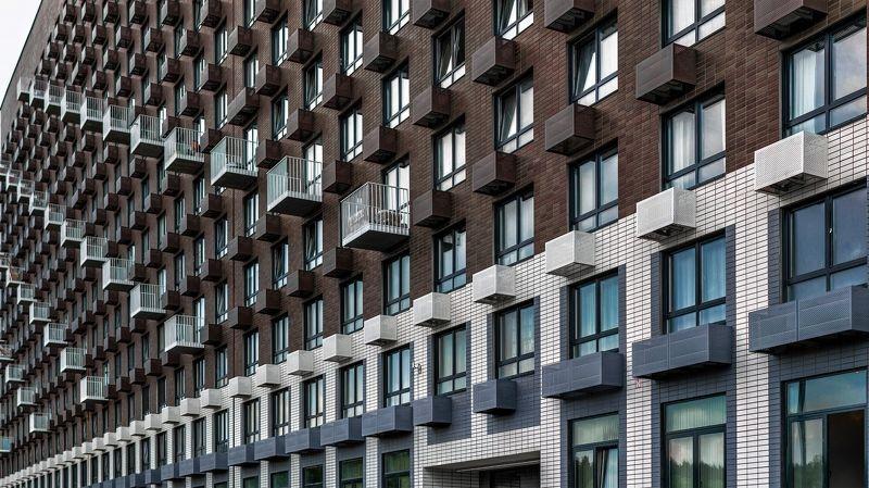 город , архитектура  Каменные волны photo preview