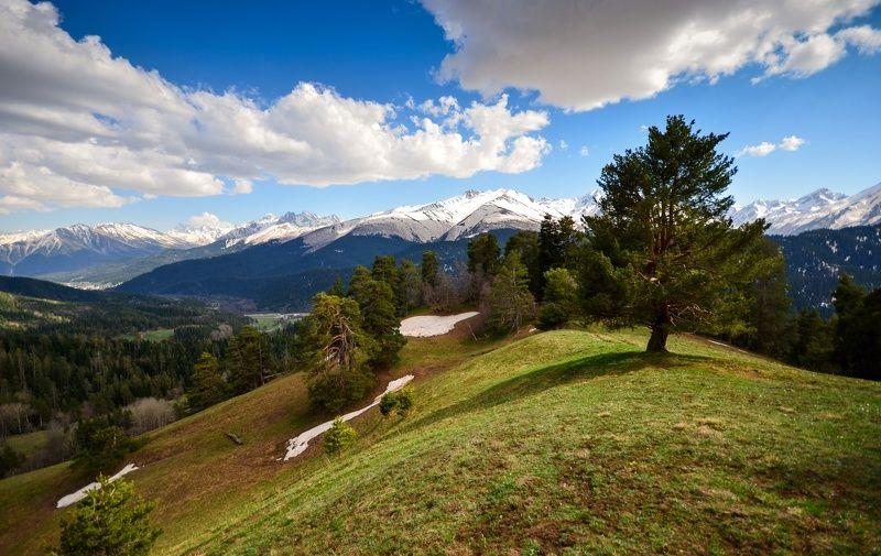 горы, весна, Архыз Весенний Архыз 2photo preview