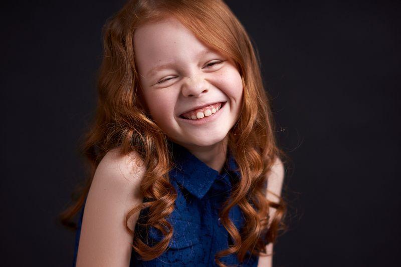 девочка, рыжая, улыбка, смешная, портрет, smile, portrait, girl, funny, redhead Еваphoto preview
