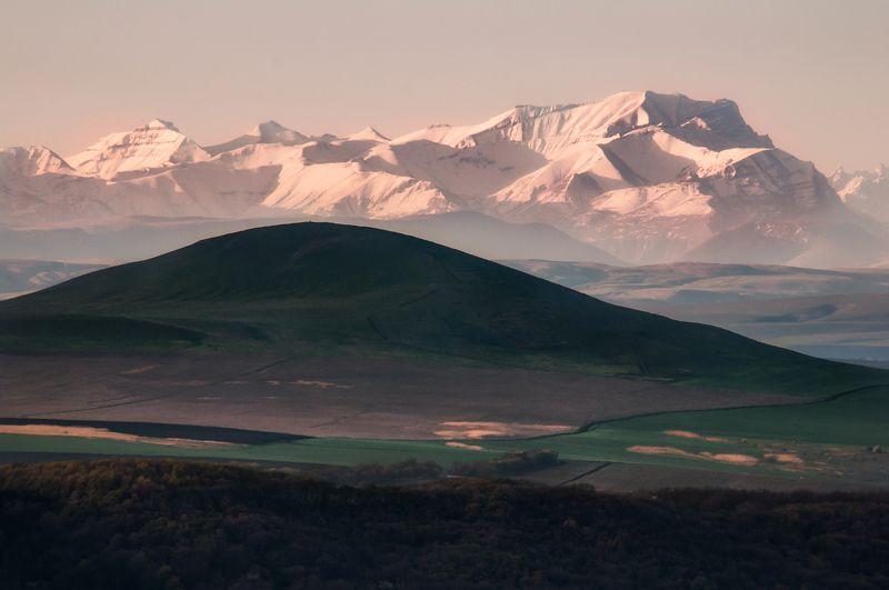горы, пейзаж, природа, кавказ Золотой курганphoto preview