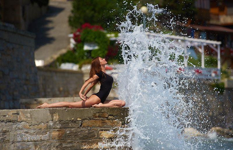 ballerina, dance, dancing, portrait, street, outdoor Несебър, Българияphoto preview