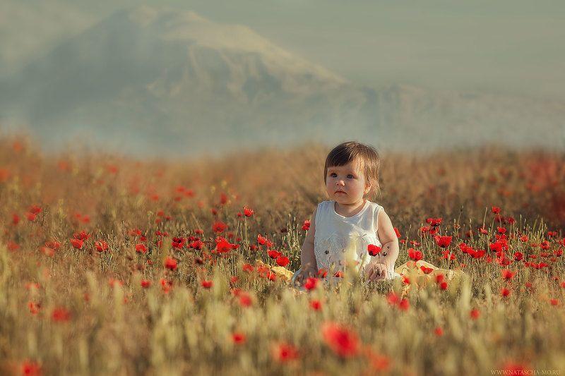 дети, портрет, детская фотография Арарат и малышкаphoto preview