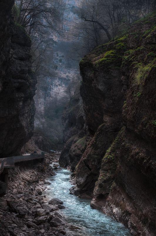 горы, пейзаж, природа, кавказ, ущелье, река, Чегемское Ущельеphoto preview