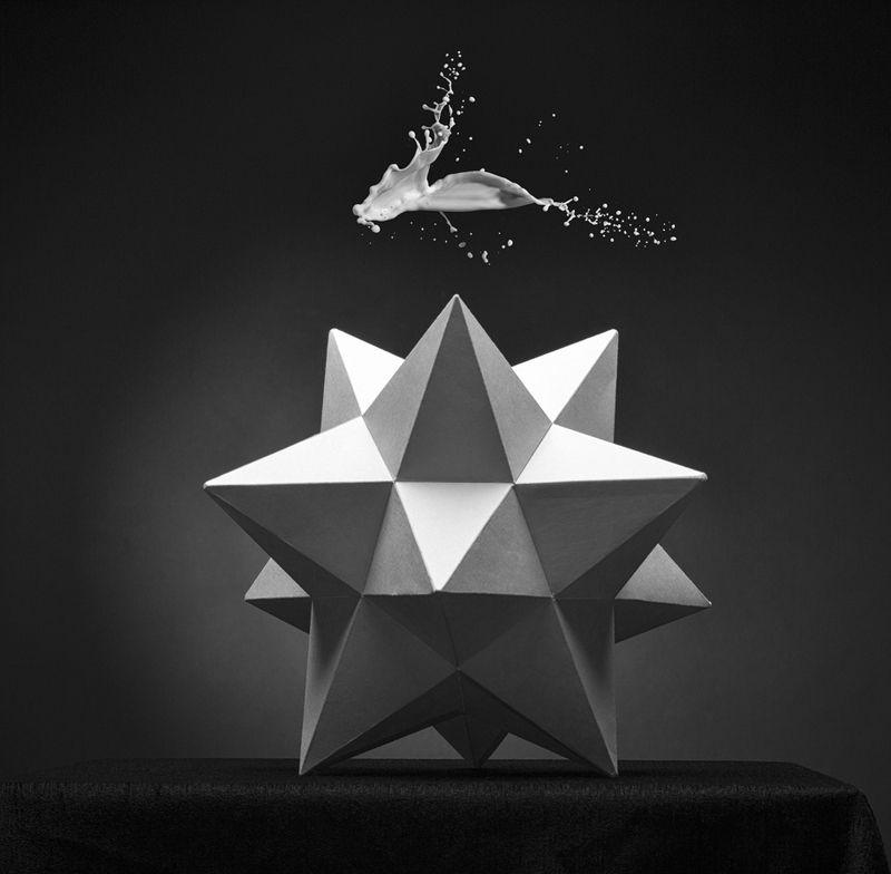 форма, геометрия, жидкость, концепция Полёт.photo preview
