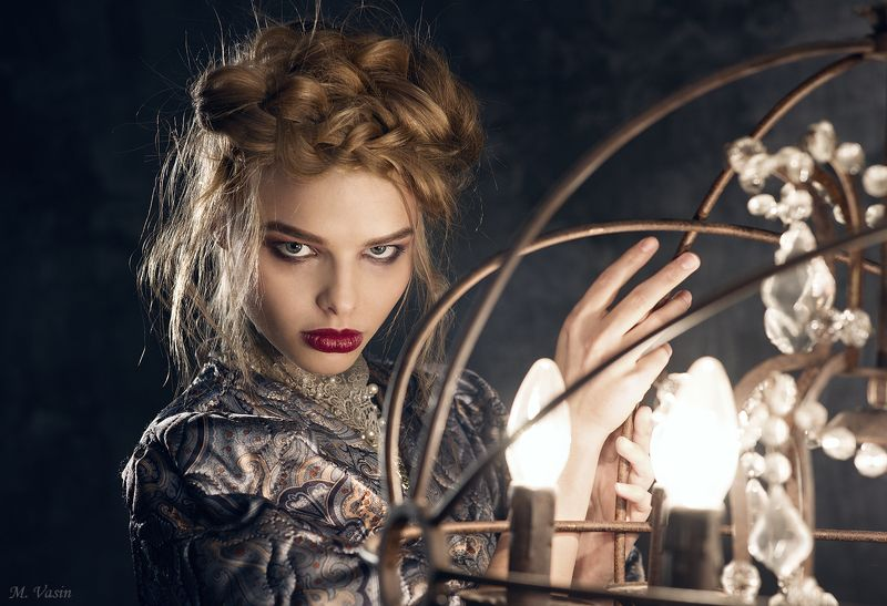studio, makeup, style, art, light, color, portrait, model, girl Alicephoto preview