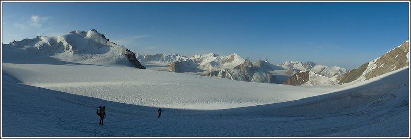 тянь-шань, ледник, петрова, ак-шийрак Белое безмолвиеphoto preview