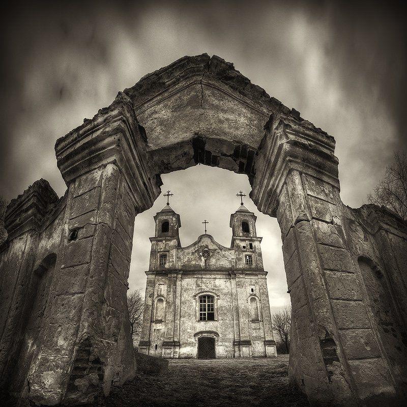 ворота, брама, беница, костел, apalikov, апаликов |   PORTAL OF SORROW   |photo preview