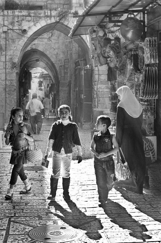 свет, старый, город, гюстав, доре, иерусалим Любовь к Гюставу Доре или свет Старого города.photo preview