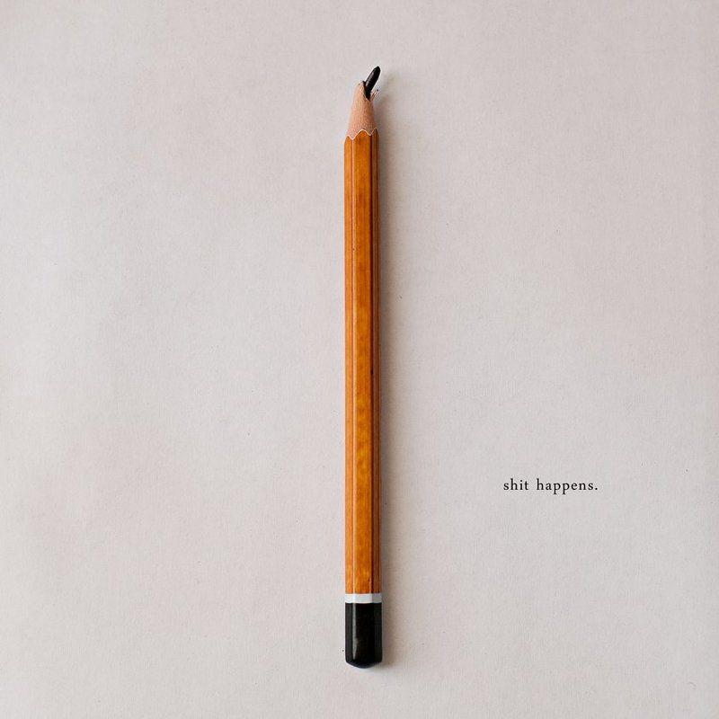 pencil, concept, square shit happensphoto preview