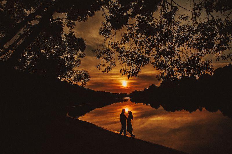 Неман, закат и любовьphoto preview