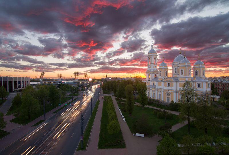 санкт-петербург, россия, городской пейзаж,  Князь-Владимирский соборphoto preview