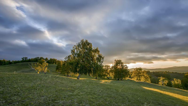 утро, рассвет, восход, тучи, лучи Рассвета.нетphoto preview