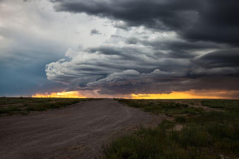 пейзаж,  природа, перед  дождем, облака, буря,  непогода, солнце, закат, казахстан, тучи, небо, молния, величие, гроза, поле,  фотограф, алматы, фотограф алматы, landscape, the sun, nature, the mountains, clouds, rainbow, lightning, awesome, amazing, kaza Буря перед грозойphoto preview