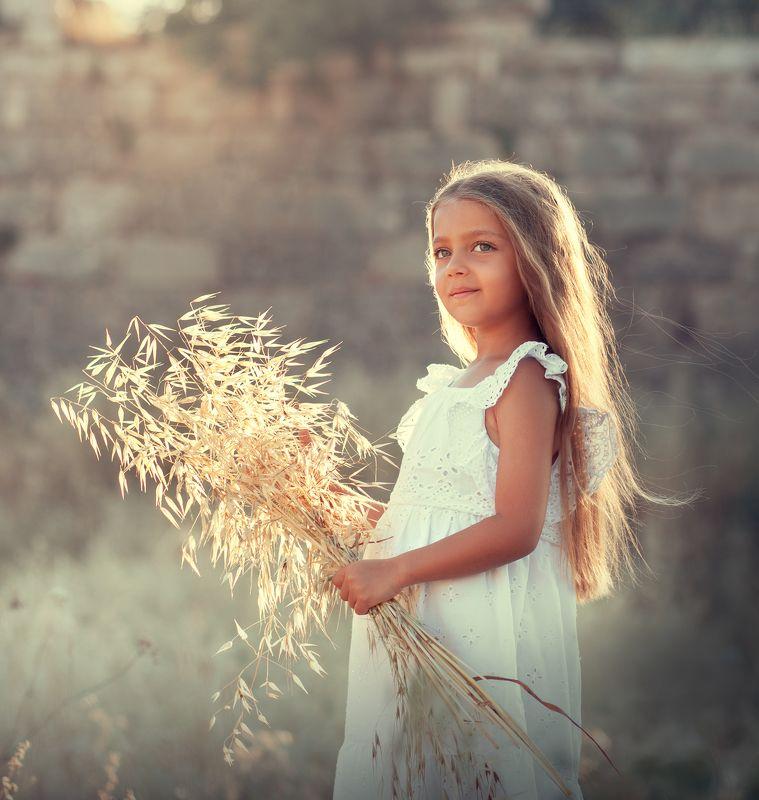 волшебный свет, закат, златовласка, sunset, white dress, sunlight, beautiful light Goldilocksphoto preview