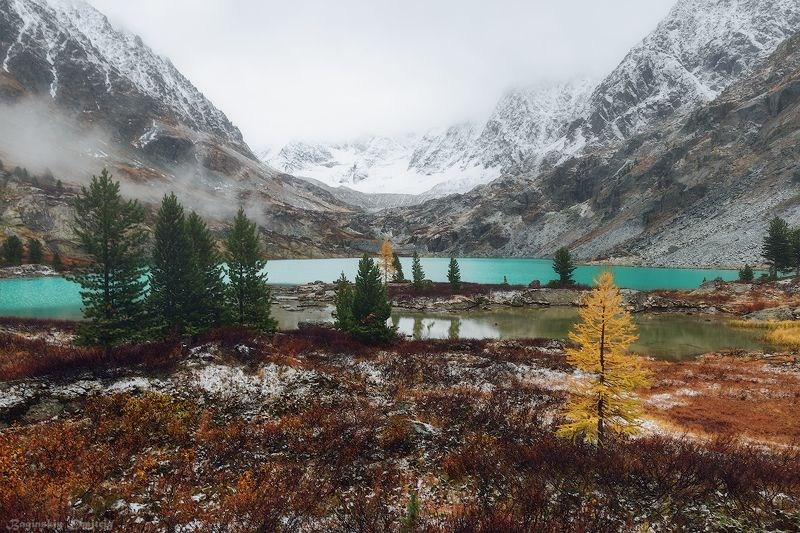 куйгук, алтай, осень, озеро, горы Озеро Куйгукphoto preview