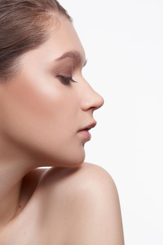 макияж, девушка, portrait, nude, girl, makeup, beauty Оляphoto preview