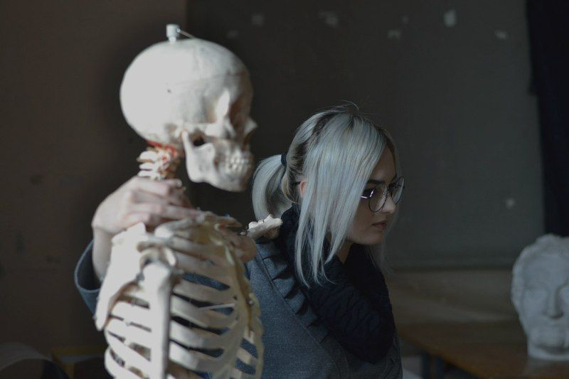 with a skeletonphoto preview