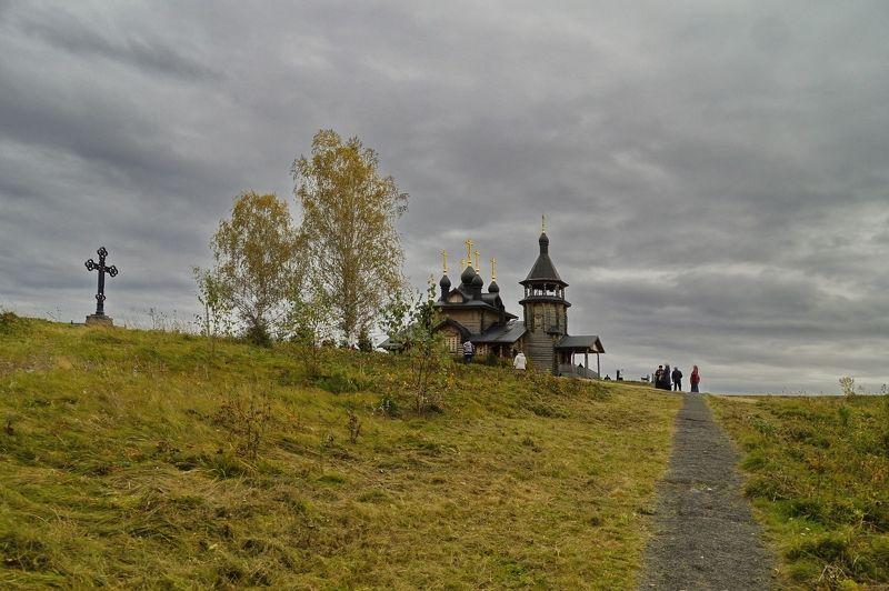 пейзаж,небо,храм,урал,святыня На самом высоком месте...photo preview