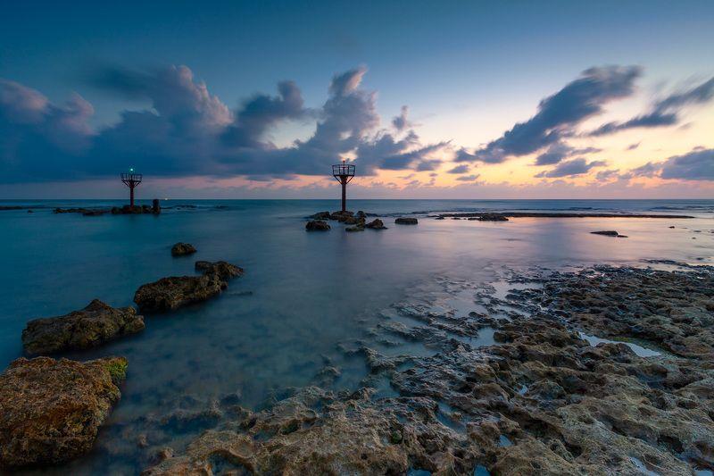 средиземное море, небо, камни, вода, песок, облака, море, пляж, парк, шторм, национальный парк, израиль, север, закат, солнце, ветер, брызги, волны, весна, природа, пейзаж, лучи, nationalpark, israel, reflection, mirror, landscape, seascape, travel, beaut Средиземное мореphoto preview