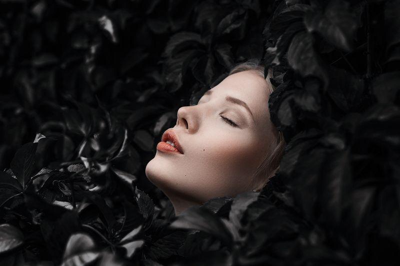 Портрет, женский портрет, девушка, взгляд, Россия  Дашаphoto preview