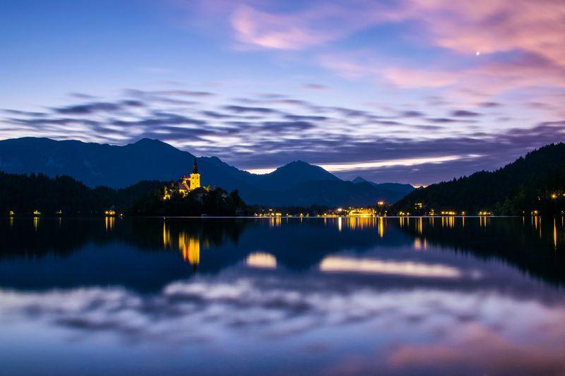 блейд, #slovenia, #bled, #travel, #adventure, #nature, #alps, #summer, #sunrise Пробуждение Блейдаphoto preview