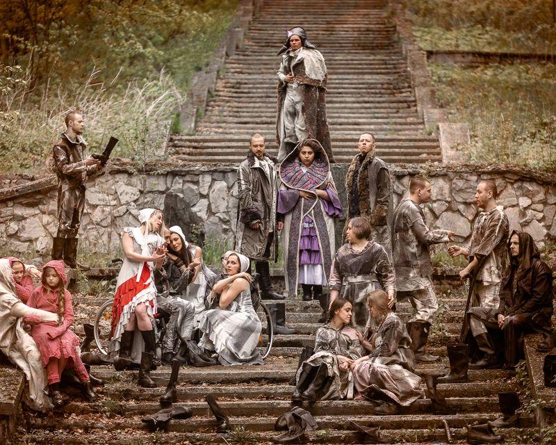 культурf, люди, история, религия, старый, древний, прошлое, духовность, воин, средневековый, на открытом воздухе, европа, мужчины, статуя, культура коренных народов, знаменитое место, рыцарь, Наброски людейphoto preview