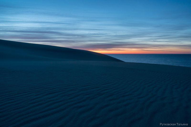 В дюнах.... Предрассветное.photo preview