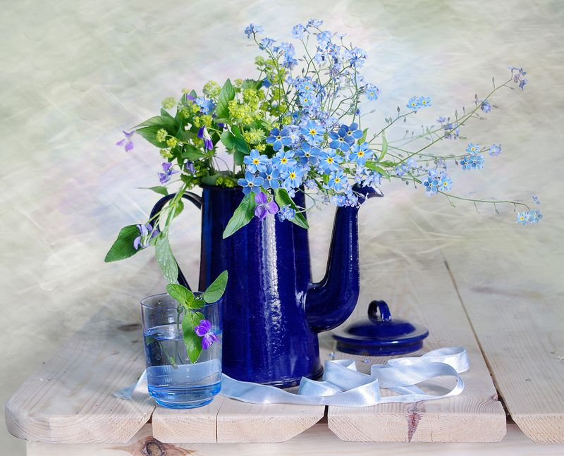 букетик , незабудка , голубая , июнь, Нежность летаphoto preview