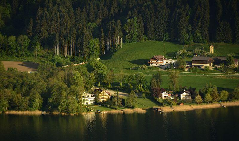 озеро, тишь да гладь Озерная Австрияphoto preview