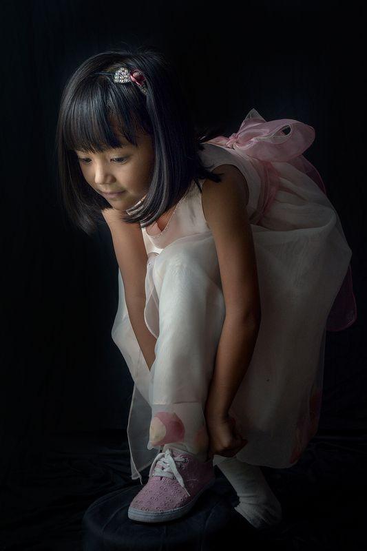 girl, ballet little dancerphoto preview