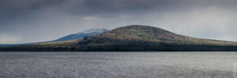 небо, озеро, горы, хребет, национальный парк, зюраткуль, челябинская область Национальный парк Зюраткульphoto preview