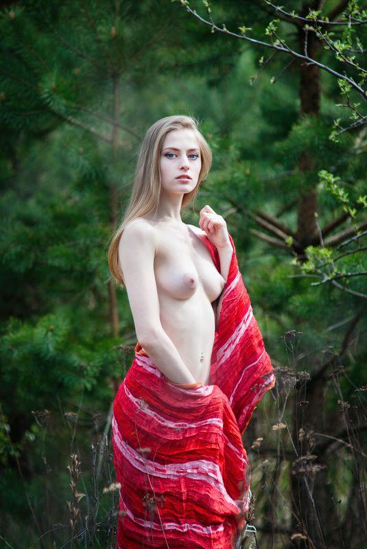девушка, ню, эротика, портрет, природа Еленаphoto preview