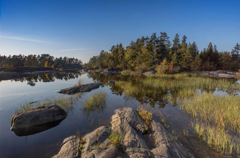 вода, шхеры, природа Спокойствие внутри себя / Ladoga skerriesphoto preview