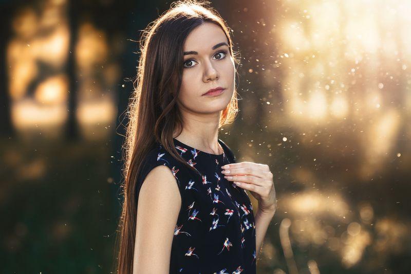 Портрет, девушка, девушки, красота, глаза, волосы, свет Татьянаphoto preview